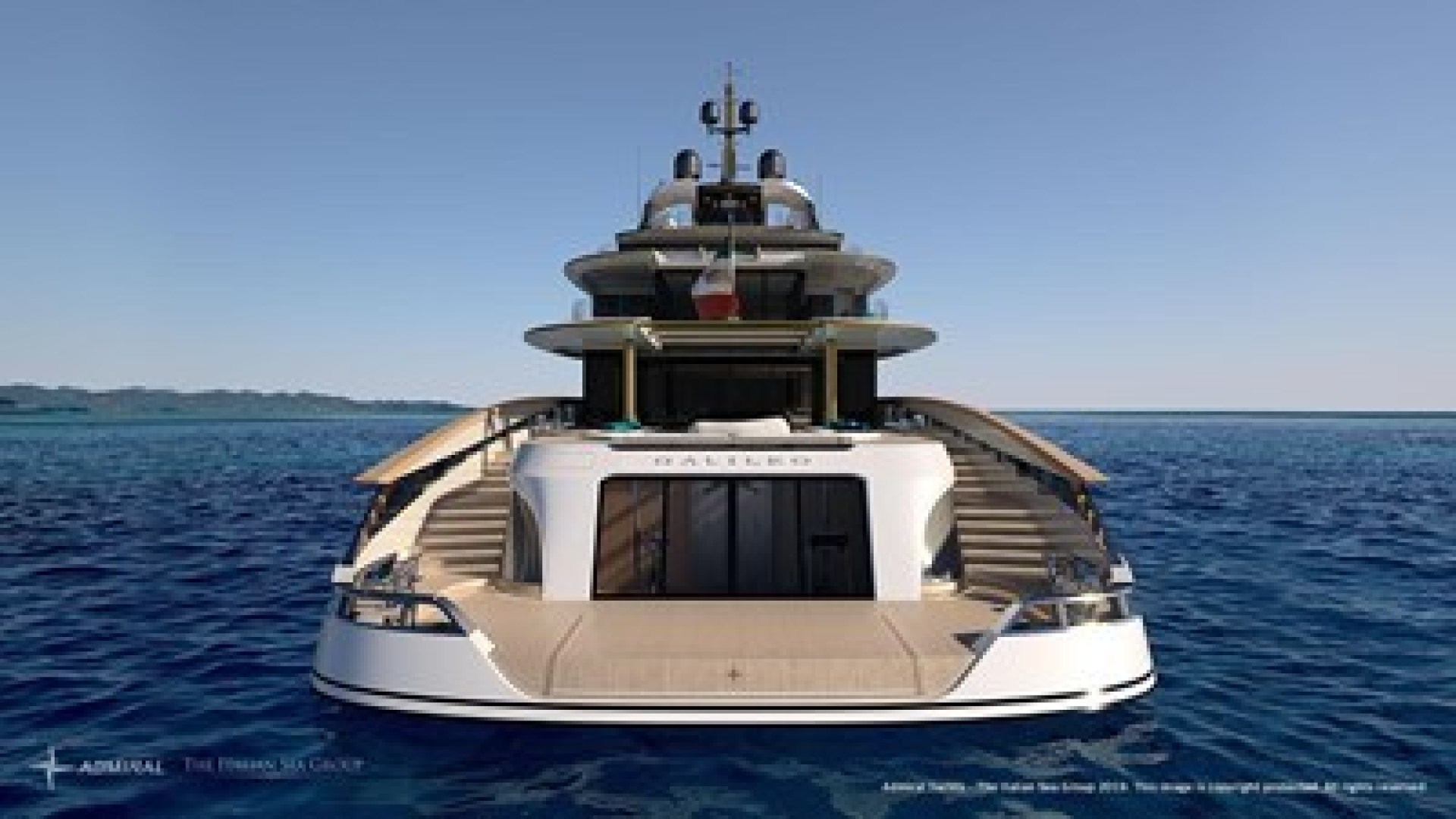 Picture Of a 2023 Admiral 230 Galileo 70 Motor Yachts | 1448493