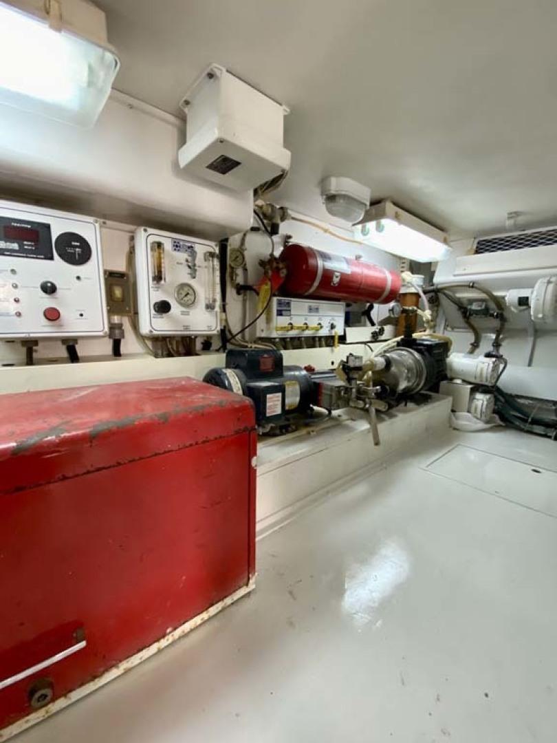 Viking-55 Convertible 1999-Lisa Marie Stuart-Florida-United States-Engine Room-1449425   Thumbnail
