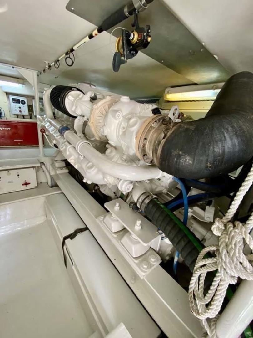 Viking-55 Convertible 1999-Lisa Marie Stuart-Florida-United States-Starboard Engine-1449423   Thumbnail
