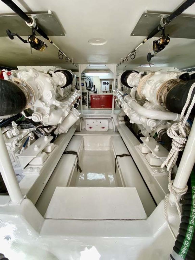 Viking-55 Convertible 1999-Lisa Marie Stuart-Florida-United States-Engine Room-1449426   Thumbnail