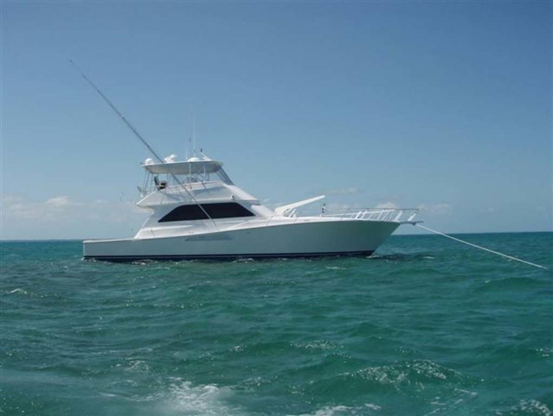 Viking-55 Convertible 1999-Lisa Marie Stuart-Florida-United States-Starboard at Anchor-1449428   Thumbnail