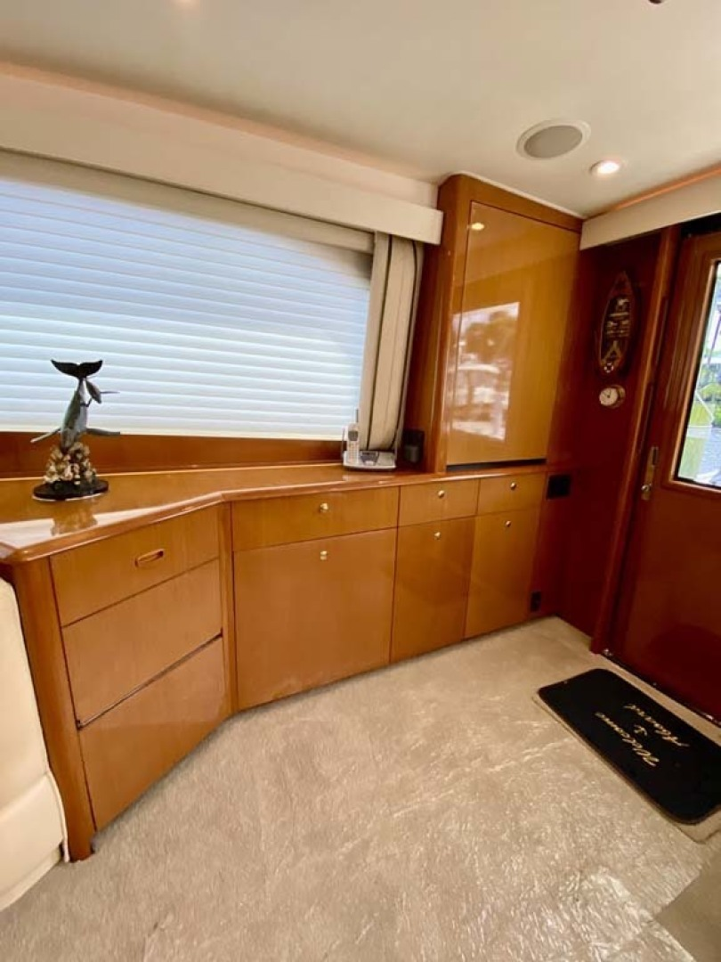 Viking-55 Convertible 1999-Lisa Marie Stuart-Florida-United States-Salon Cabinets to Starboard-1449387 | Thumbnail