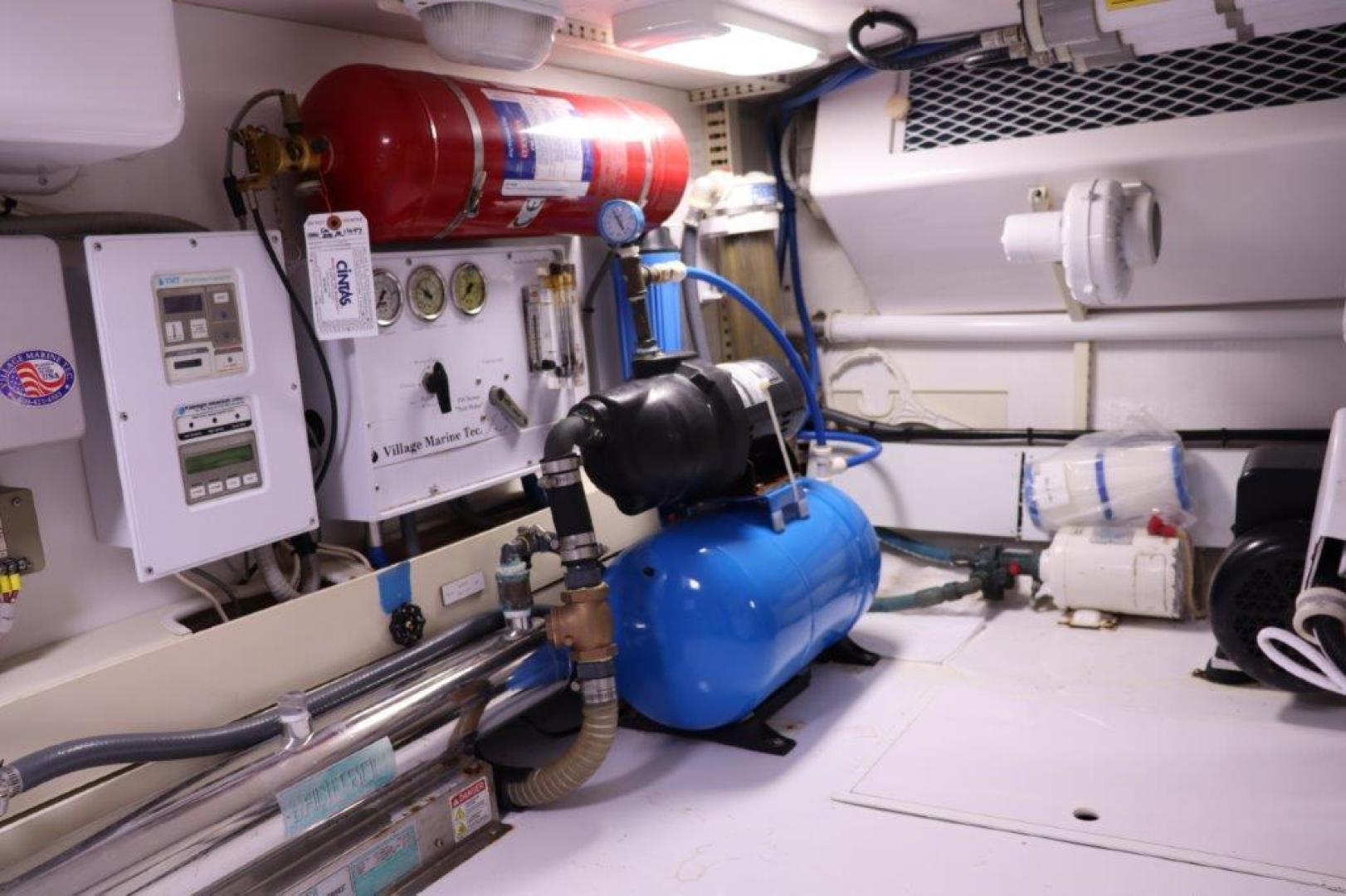 Viking 55 - Jezebel - Engine Room