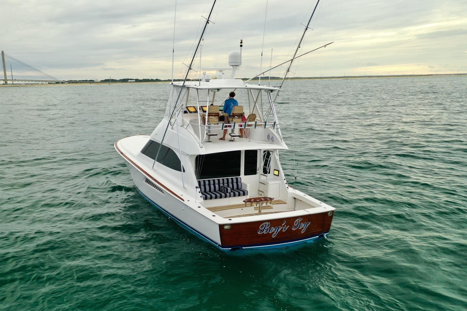 Viking-50 Convertible 2009-Boys Toy Bethany Beach-Delaware-United States-2009 Viking 50 Convertible Transom-1453623 | Thumbnail