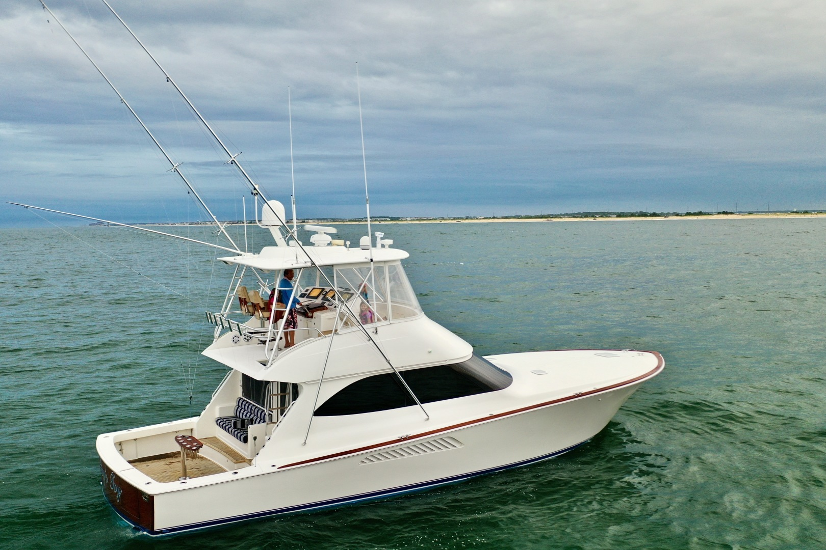 Viking-50 Convertible 2009-Boys Toy Bethany Beach-Delaware-United States-2009 Viking 50 Convertible Stbd Profile-1453621 | Thumbnail