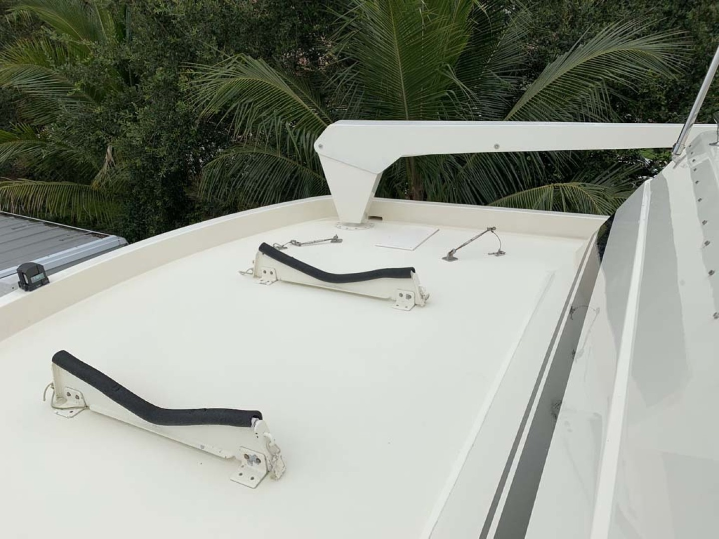 Hatteras-Euro Transom Motor Yacht 1989-Different Drummer II Stuart-Florida-United States-Davit-1450008 | Thumbnail