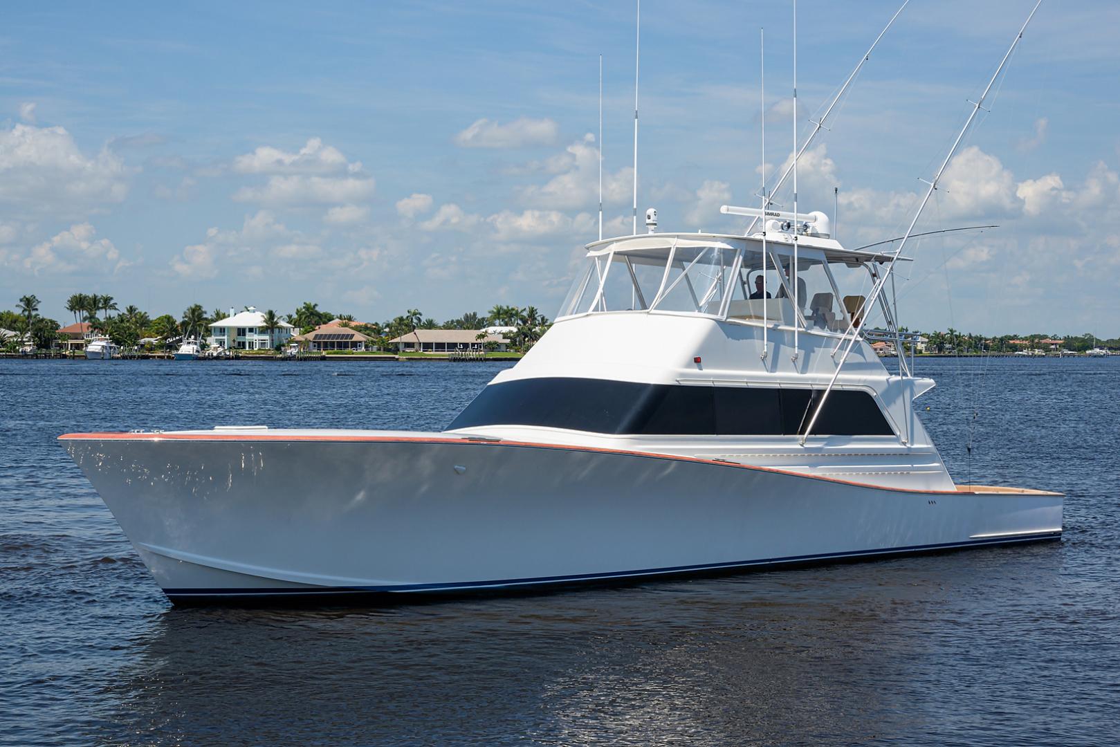 Monterey-Sportfish 1991-Lady Gemini Mantoloking-New Jersey-United States-Lady Gemini_bow_profile_5-1451151 | Thumbnail