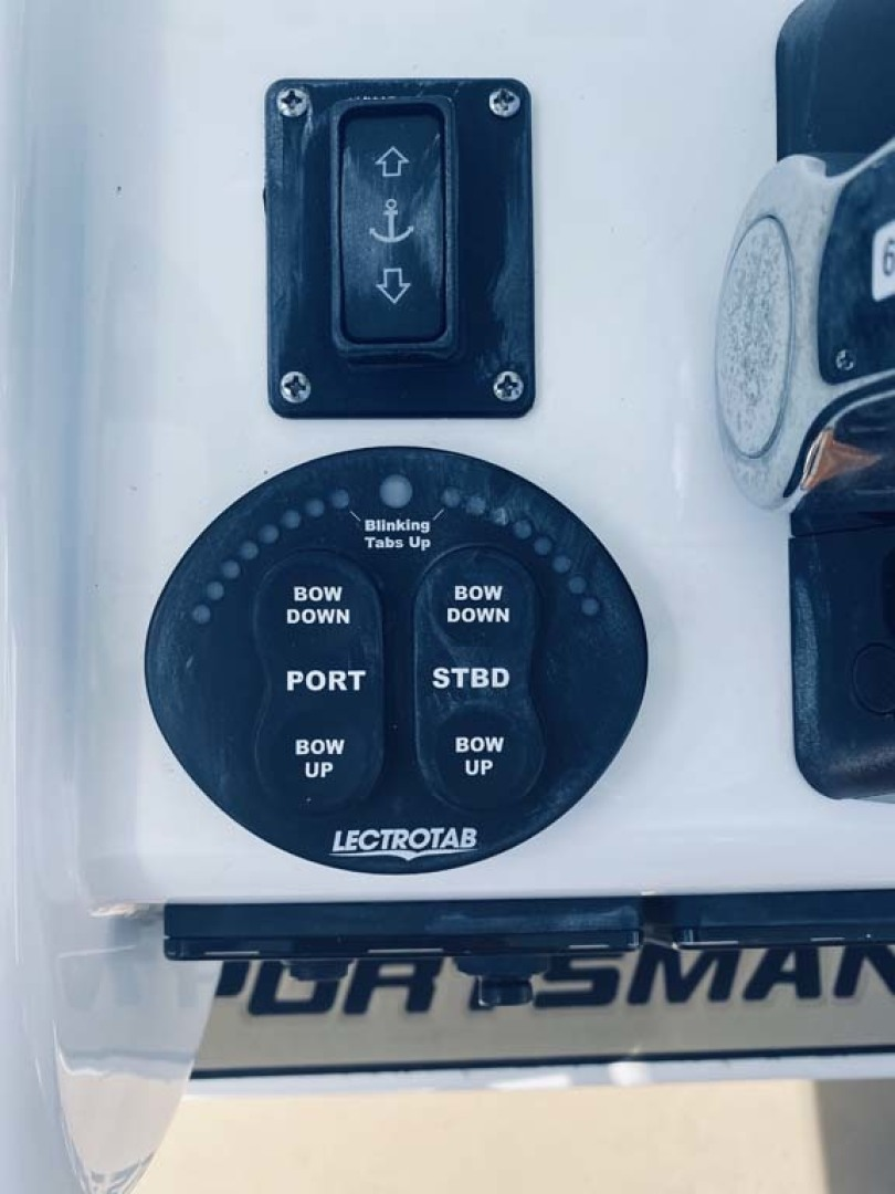 Sportsman-282 Open 2018-Time Out Too Avalon-New Jersey-United States-Trim Tab Controls-1451472 | Thumbnail