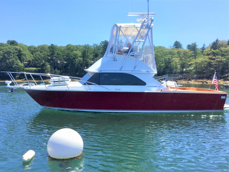 Bertram-28 Flybridge 1981-ROXY South Bristol-Maine-United States-1453939 | Thumbnail