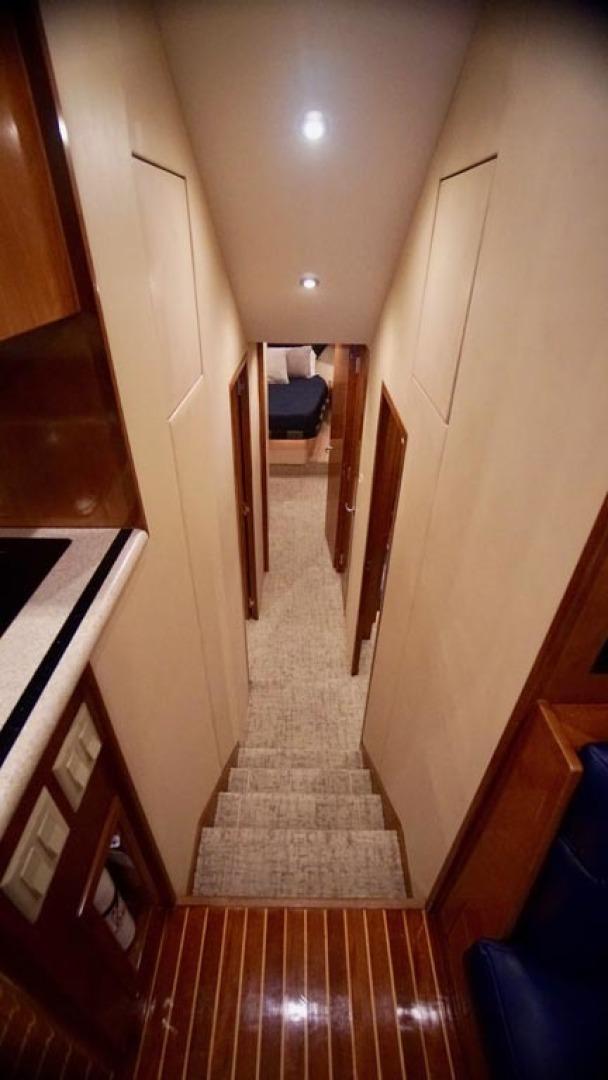 Hatteras-55 Convertible 2001-Main Event Orange Beach-Alabama-United States-Companionway-1454203 | Thumbnail