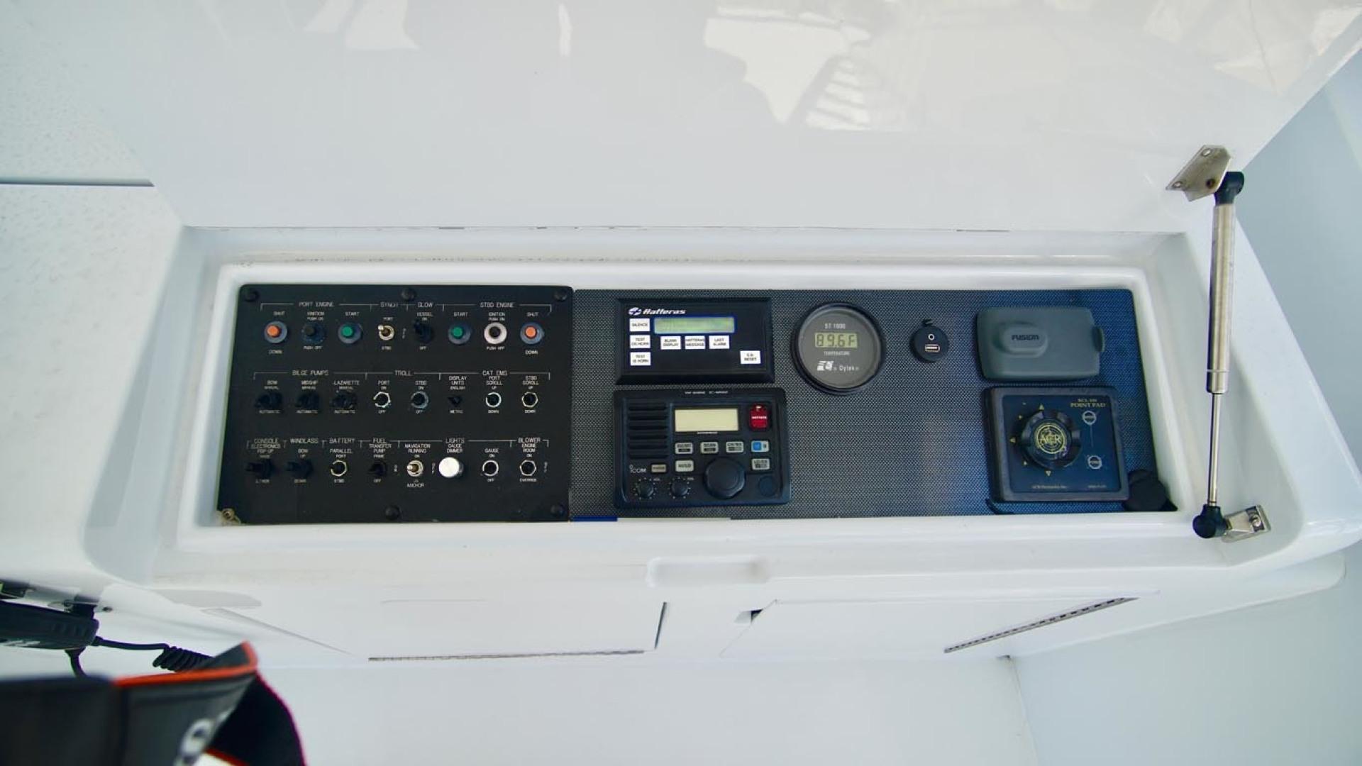 Hatteras-55 Convertible 2001-Main Event Orange Beach-Alabama-United States-Helm Controls-1454226   Thumbnail