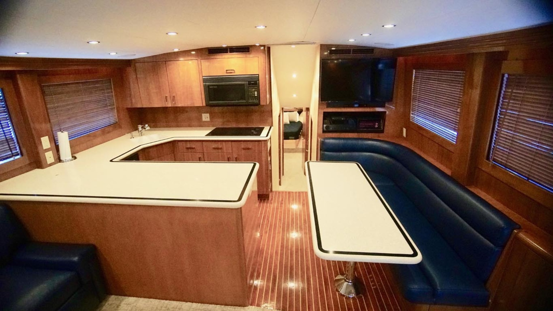 Hatteras-55 Convertible 2001-Main Event Orange Beach-Alabama-United States-Galley And Dinette-1454200 | Thumbnail
