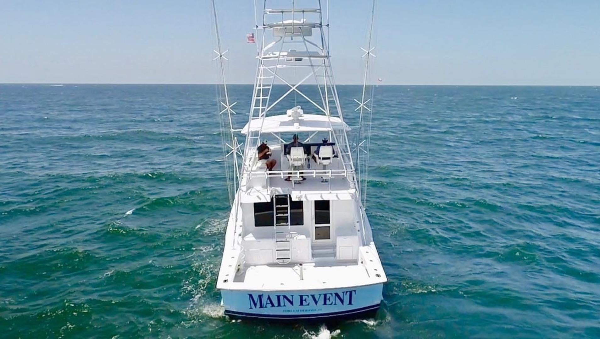 Hatteras-55 Convertible 2001-Main Event Orange Beach-Alabama-United States-Stern Profle-1454236   Thumbnail