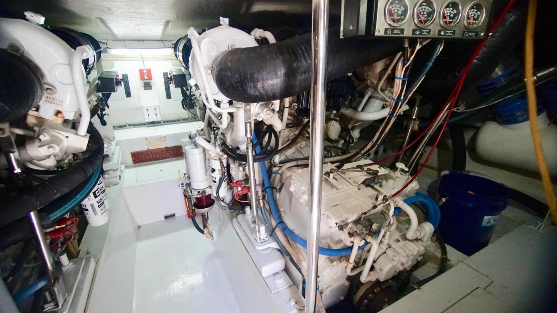 Hatteras-55 Convertible 2001-Main Event Orange Beach-Alabama-United States-Engine Room-1454230   Thumbnail
