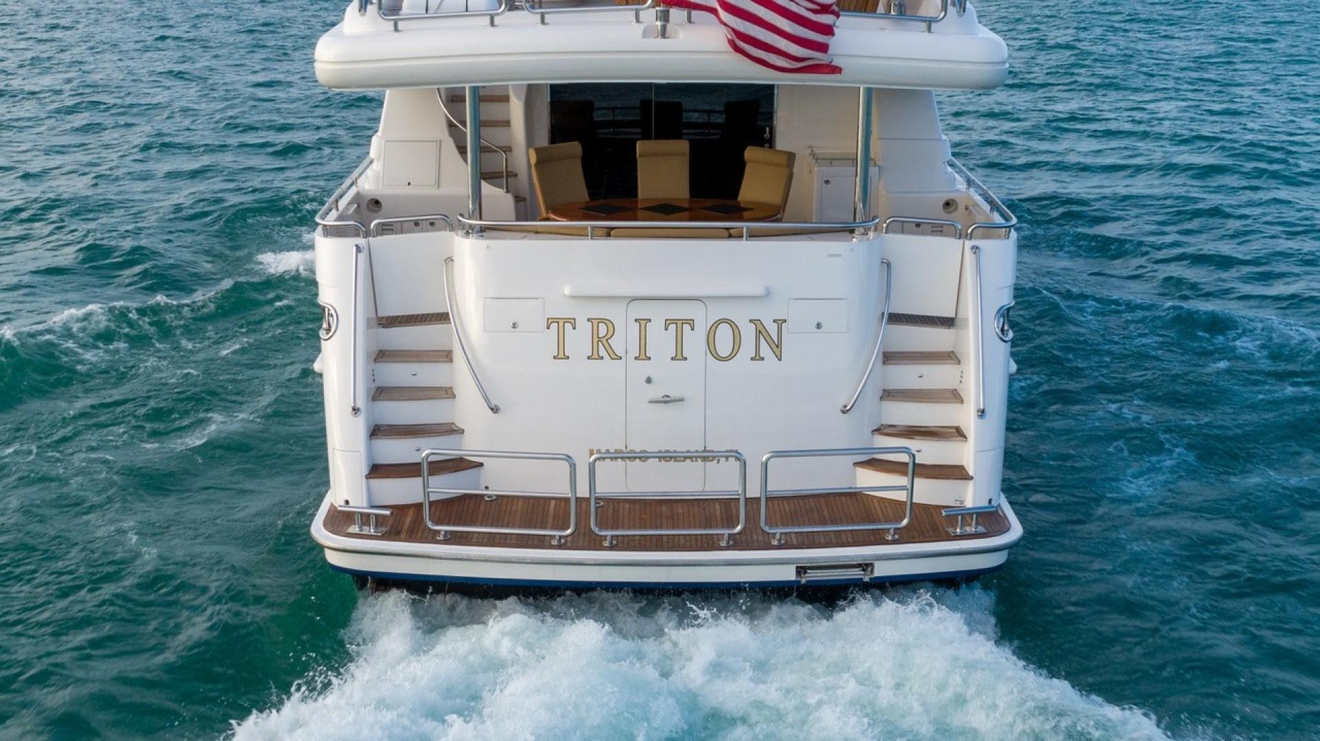 Horizon-Raised Pilothouse 2007-TRITON Fort Lauderdale-Florida-United States-1466727 | Thumbnail