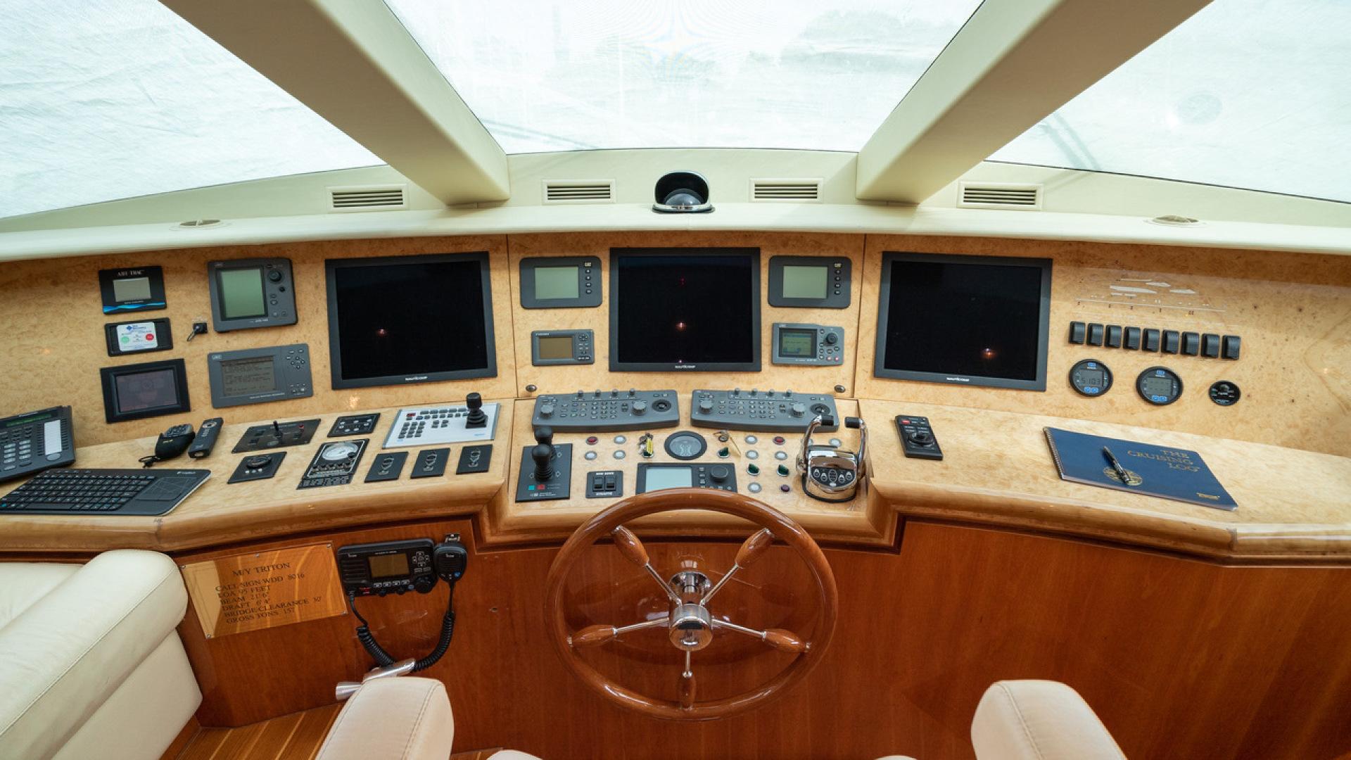 Horizon-Raised Pilothouse 2007-TRITON Fort Lauderdale-Florida-United States-1466736 | Thumbnail