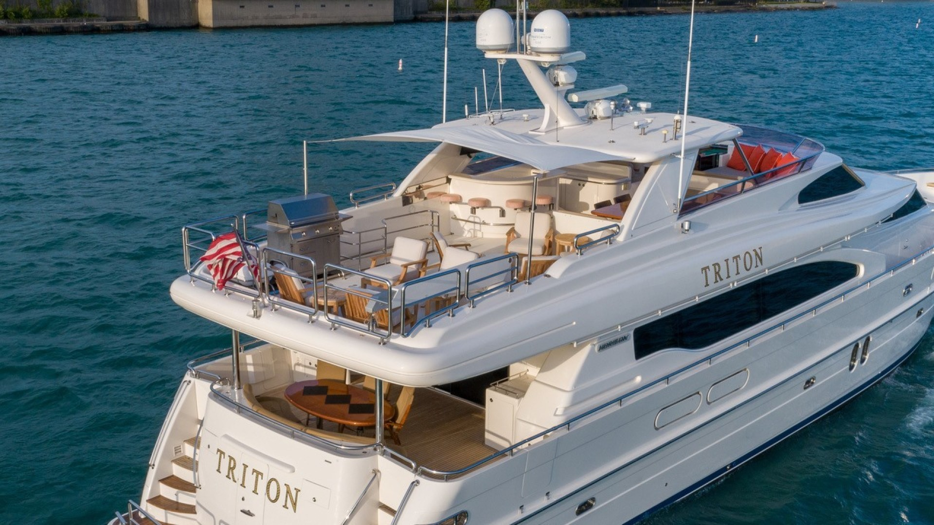 Horizon-Raised Pilothouse 2007-TRITON Fort Lauderdale-Florida-United States-1466725 | Thumbnail