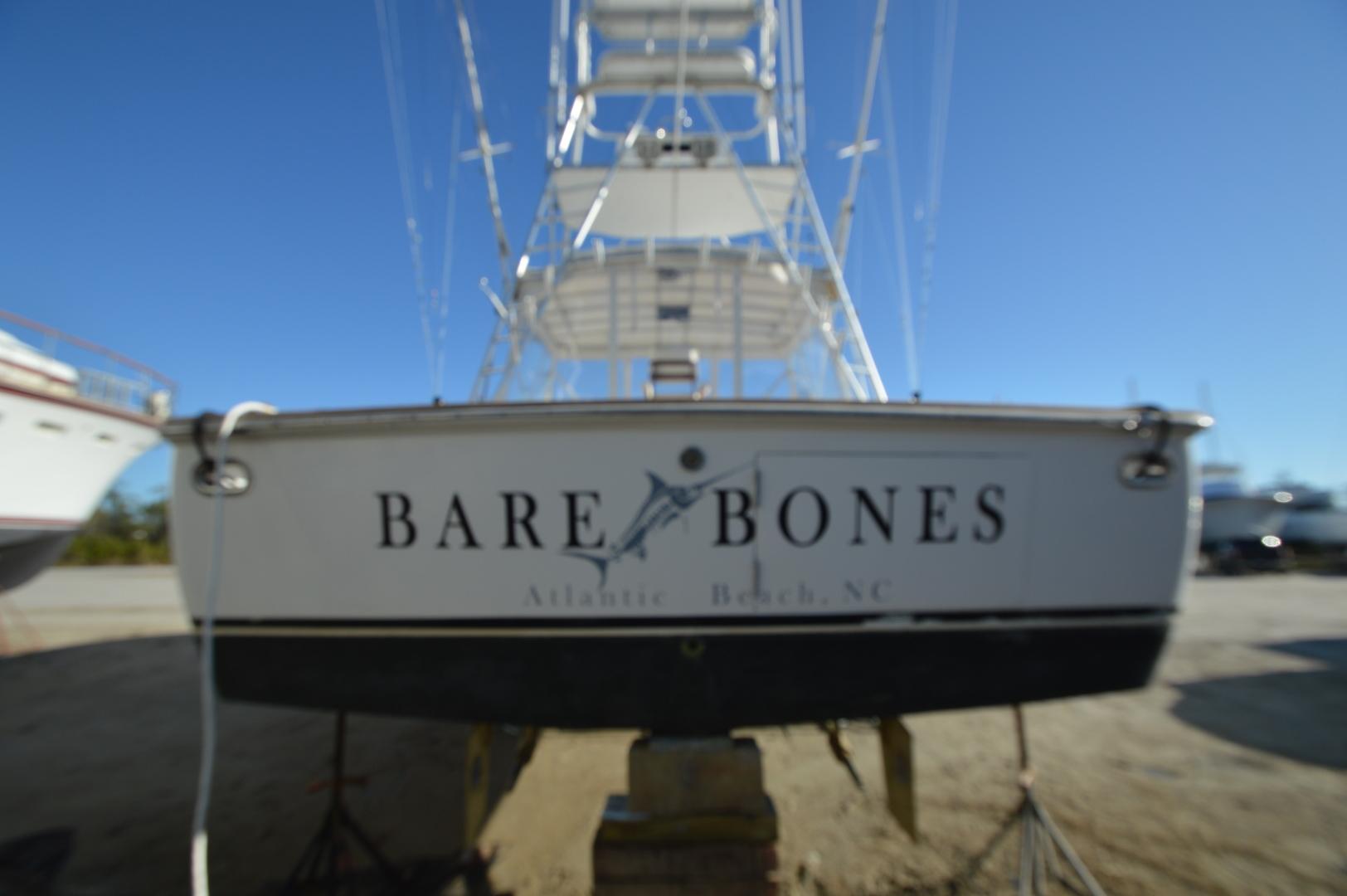 Jersey Cape-36 Express 1992-Bare Bones Atlantic Beach-North Carolina-United States-1620602   Thumbnail