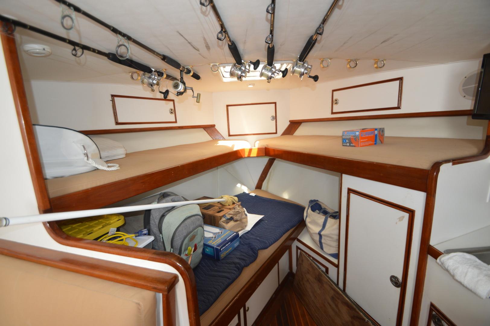 Jersey Cape-36 Express 1992-Bare Bones Atlantic Beach-North Carolina-United States-1458486   Thumbnail