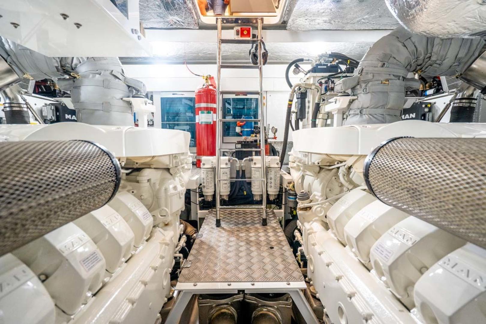 Sunseeker-Predator 2020-WIND@SEA Ft. Lauderdale-Florida-United States-Engine Room-1457481 | Thumbnail