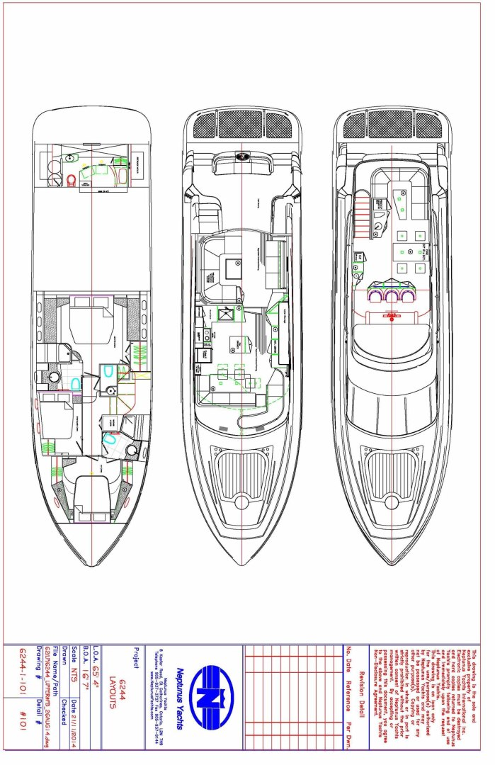 Neptunus-625 Flybridge 2015-MONESSA Miami-Florida-United States-Layout-1458064 | Thumbnail