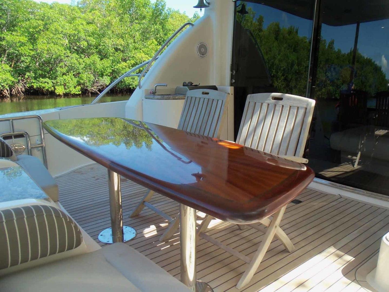 Neptunus-625 Flybridge 2015-MONESSA Miami-Florida-United States-Aft Deck Table-1458021 | Thumbnail