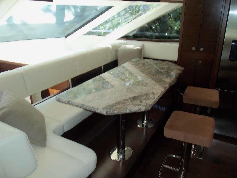 Neptunus-625 Flybridge 2015-MONESSA Miami-Florida-United States-Dining Area-1457993 | Thumbnail