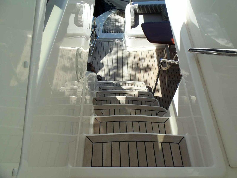 Neptunus-625 Flybridge 2015-MONESSA Miami-Florida-United States-Flybridge Steps From Above-1458027 | Thumbnail