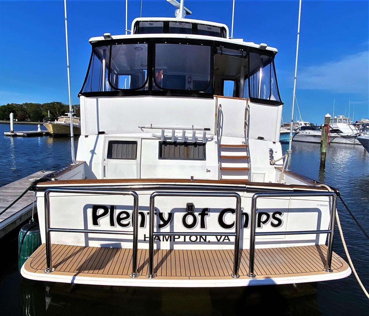 Californian-Cockpit Motoryacht 1990-Plenty of Chips Hampton-Virginia-United States-1458816 | Thumbnail