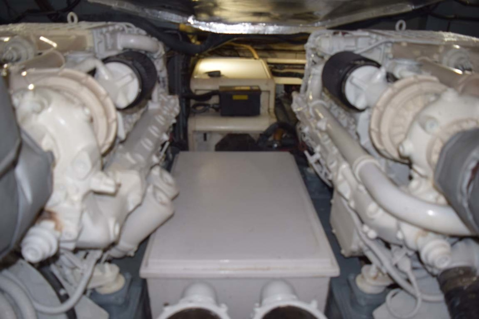 Sunseeker-Predator 2003-Low Profile PALM BEACH-Florida-United States-Engine Room-1576397 | Thumbnail