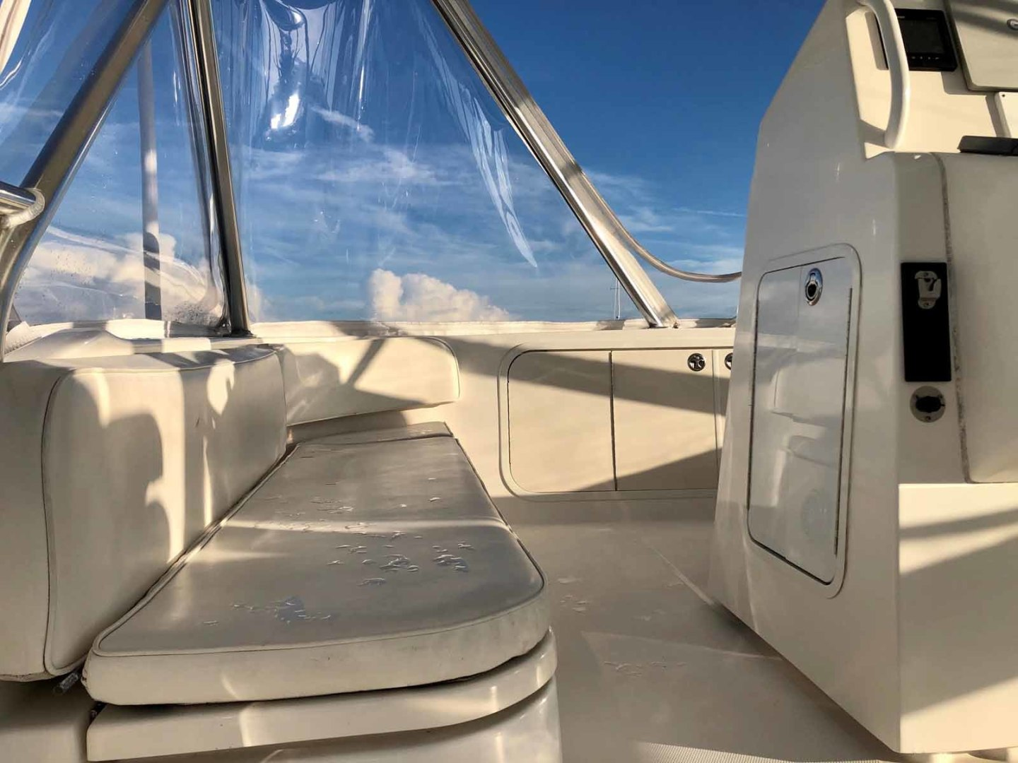 Rampage-45 SF 2004-MY DOLLY Ft. Lauderdale-Florida-United States-Portside Flybridge Seating-1464051 | Thumbnail