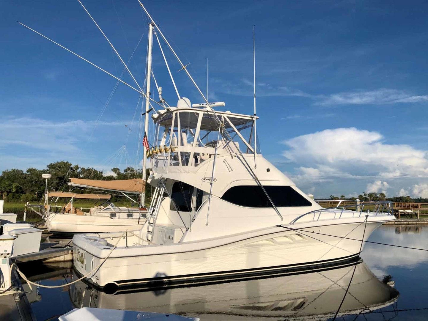 Rampage-45 SF 2004-MY DOLLY Ft. Lauderdale-Florida-United States-Starboard Side-1464083 | Thumbnail