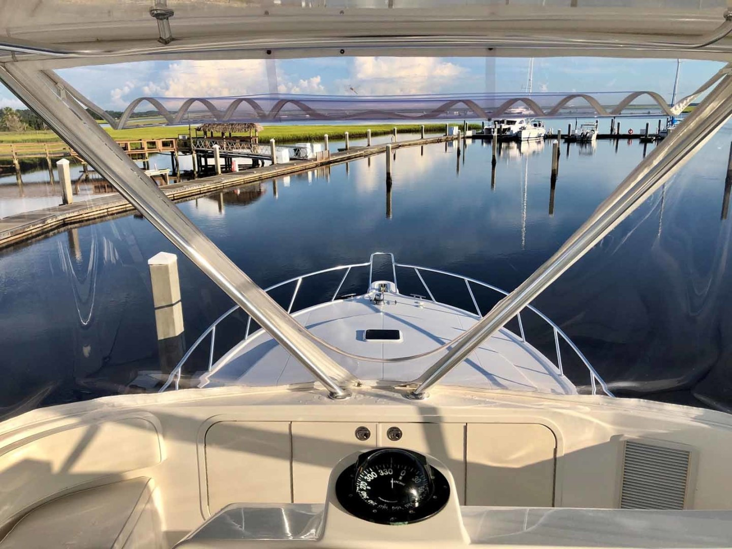 Rampage-45 SF 2004-MY DOLLY Ft. Lauderdale-Florida-United States-Flybridge Looking Forward-1464050 | Thumbnail