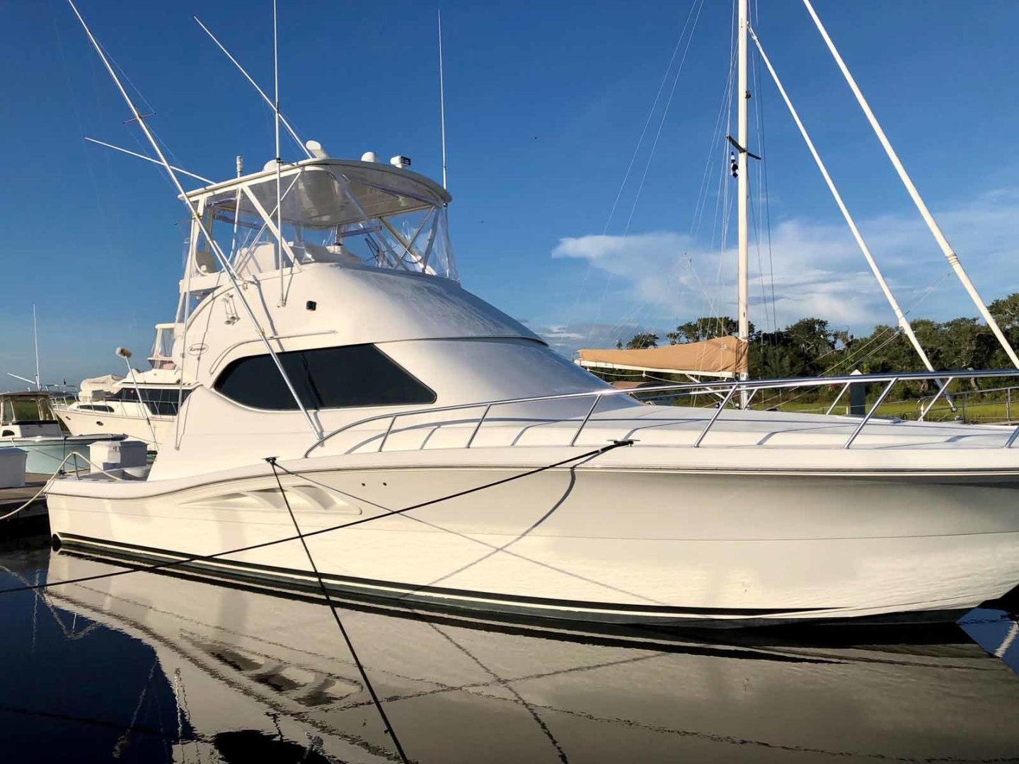 Rampage-45 SF 2004-MY DOLLY Ft. Lauderdale-Florida-United States-Starboard Side-1464084 | Thumbnail