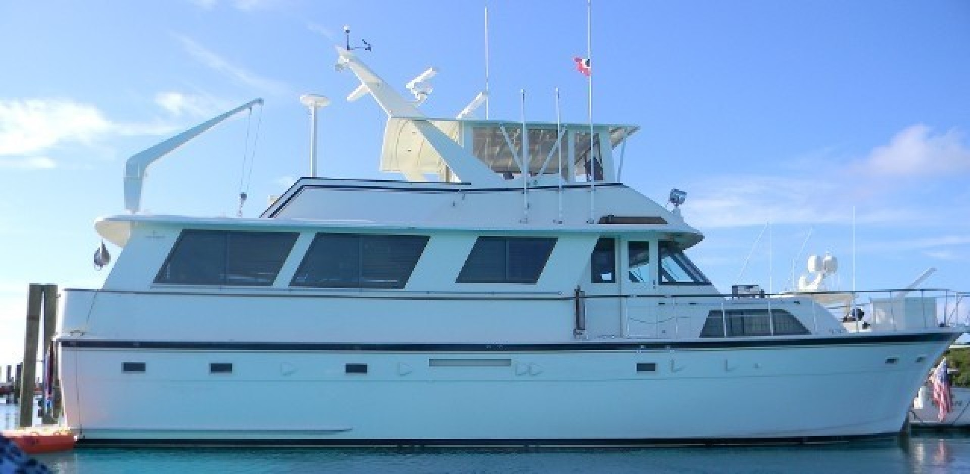 Hatteras-Motor Yacht 1985-Ruffian North Palm Beach-Florida-United States-Starboard View-1463899 | Thumbnail