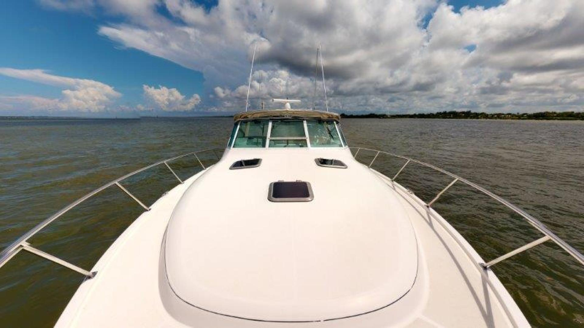 Tiara Yachts-4100 Open 2000-Sans Peur Stuart-Florida-United States-Bow-1464327 | Thumbnail