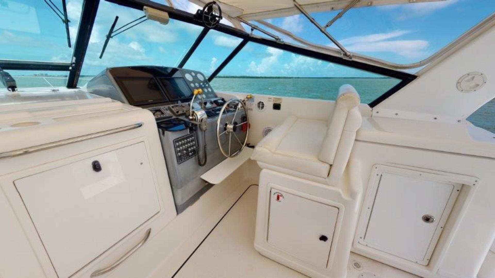 Tiara Yachts-4100 Open 2000-Sans Peur Stuart-Florida-United States-Helm-1464320 | Thumbnail