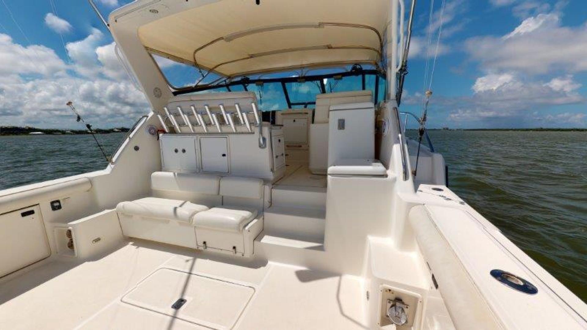 Tiara Yachts-4100 Open 2000-Sans Peur Stuart-Florida-United States-Cockpit-1464325 | Thumbnail