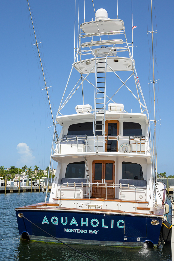 Sea Force IX-Enclosed Flybridge 2005 -Fort Lauderdale-Florida-United States-Stern View-1465099 | Thumbnail