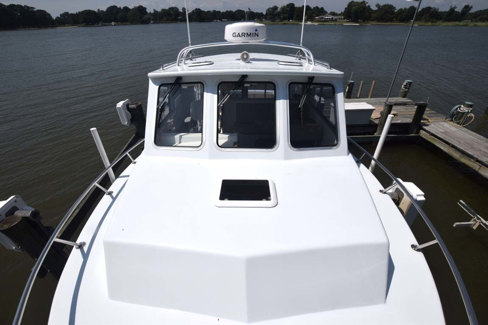 Mabry-Custom 32 2017-Therapy Grasonville-Maryland-United States-Bow to Pilothouse-1466449 | Thumbnail