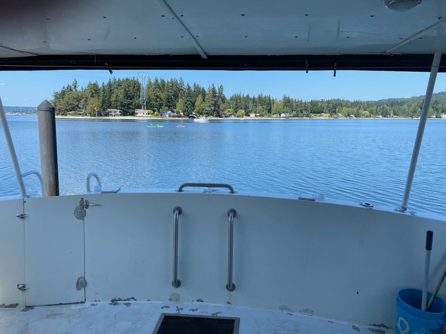 Custom-Pilothouse Trawler 1974-Great Orca Keyport-Washington-United States-View from Aft Deck-1466979 | Thumbnail