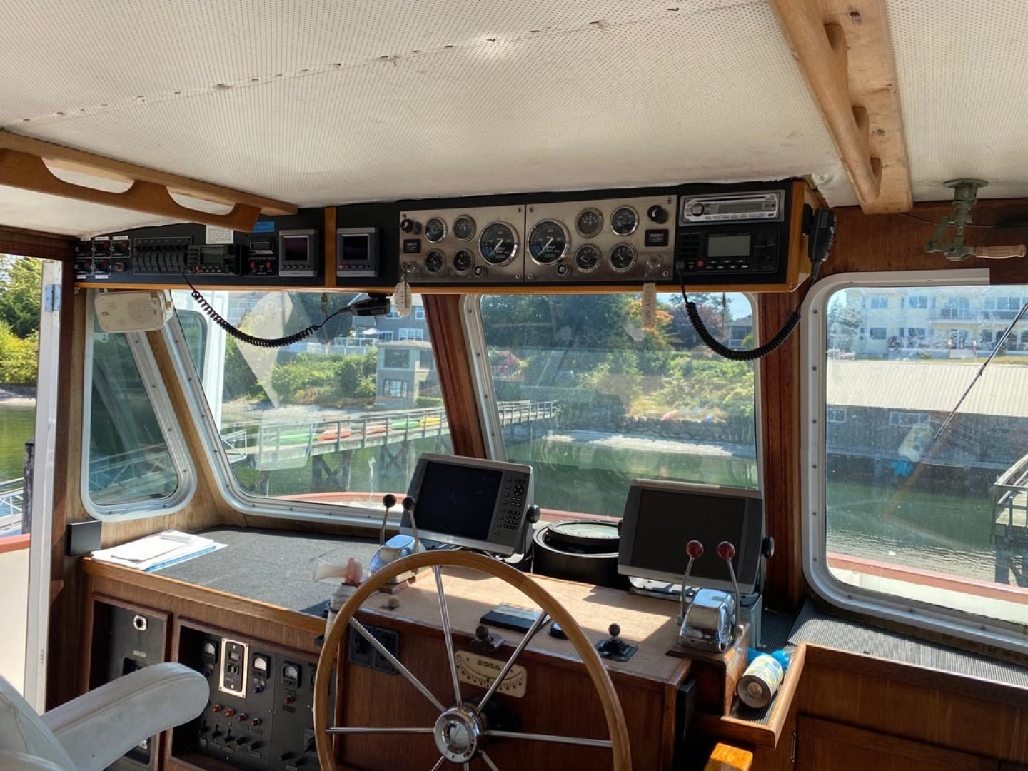 Custom-Pilothouse Trawler 1974-Great Orca Keyport-Washington-United States-Pilothouse Helm-1466972 | Thumbnail