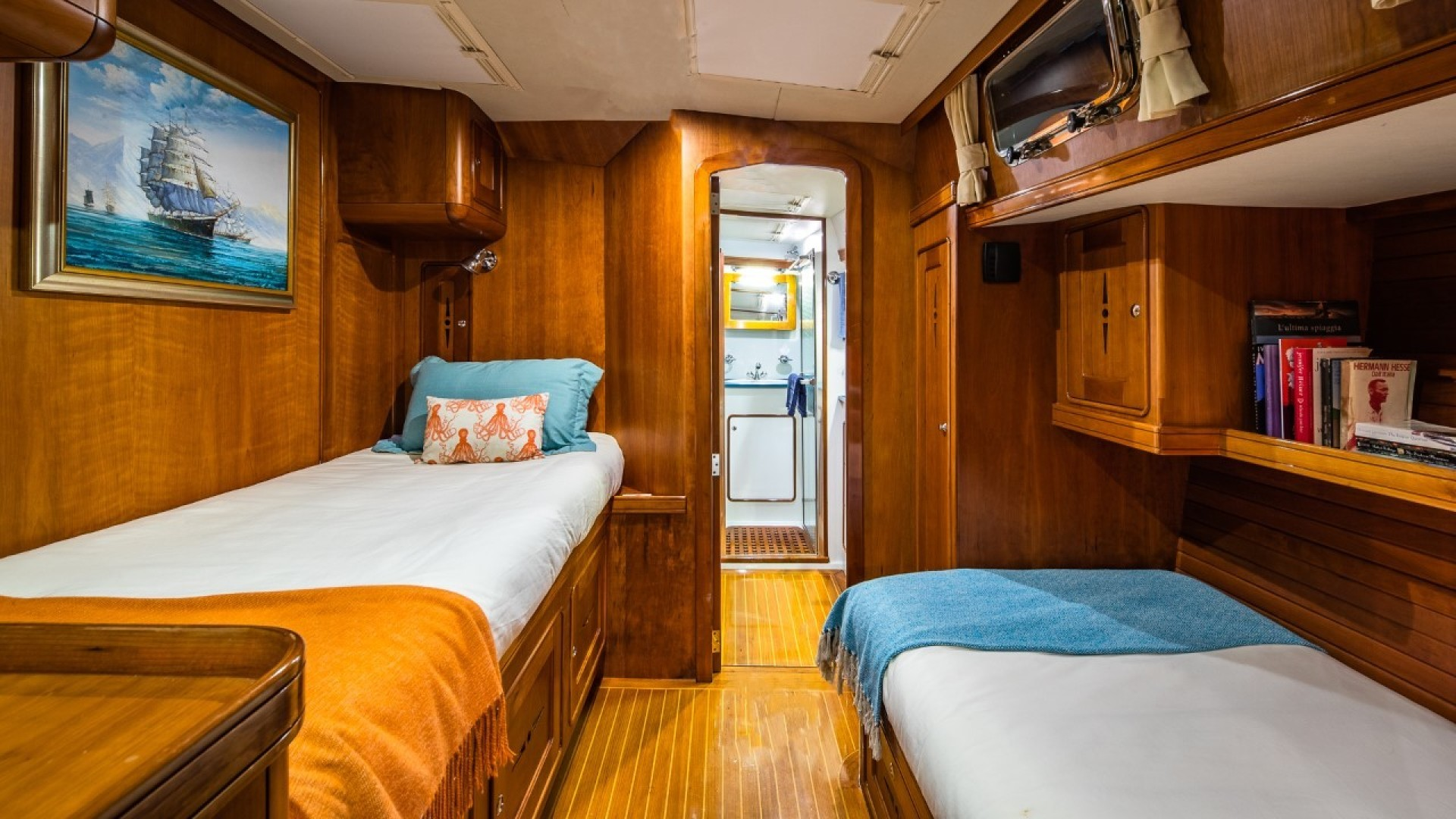 Portsmouth-Power Catamaran 2003-Giovannino Stuart-Florida-United States-stbd-guest-cabin-1469481 | Thumbnail