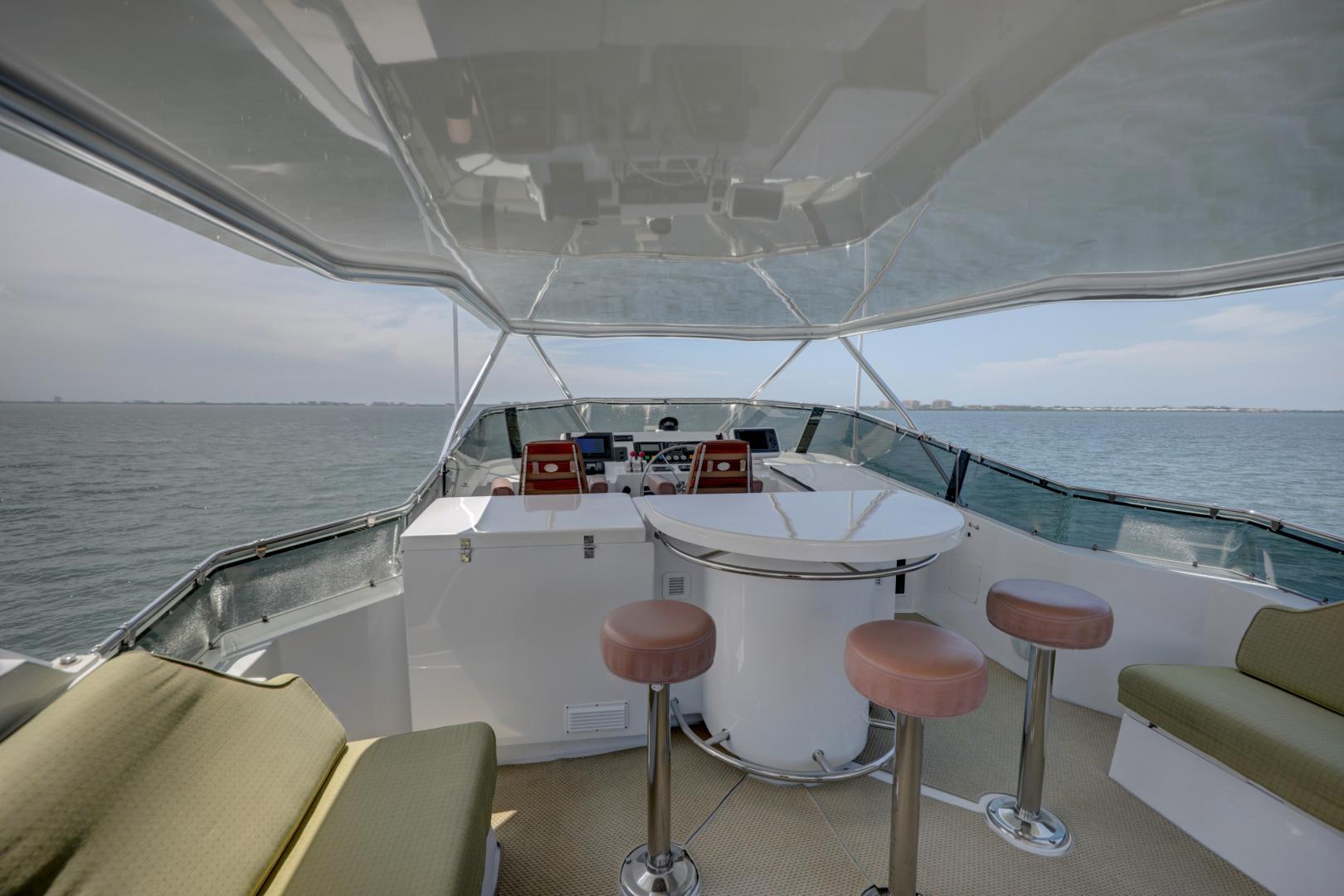 Hatteras-74 Sport Deck Motor  Yacht 1999-TRIX SEA Longboat Key-Florida-United States-1469591 | Thumbnail