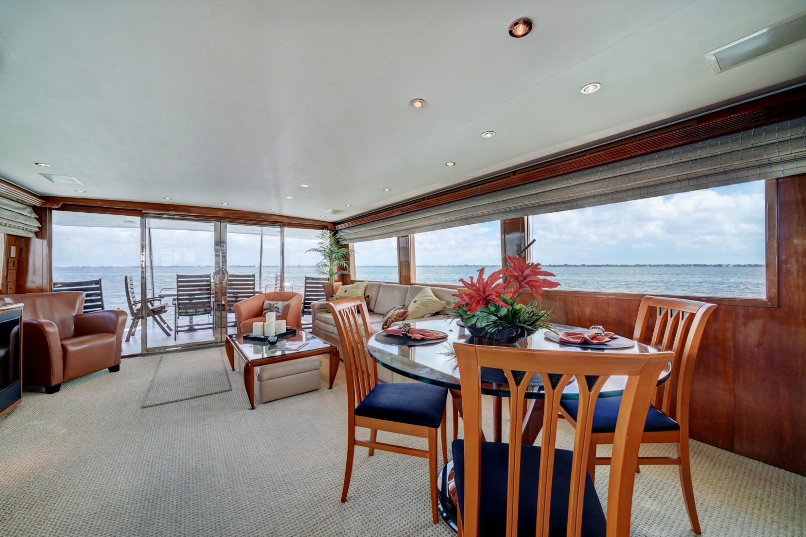 Hatteras-74 Sport Deck Motor  Yacht 1999-TRIX SEA Longboat Key-Florida-United States-1469563 | Thumbnail
