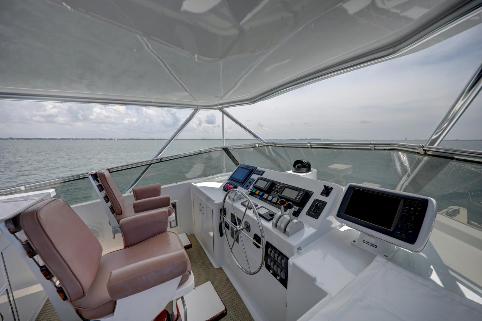 Hatteras-74 Sport Deck Motor  Yacht 1999-TRIX SEA Longboat Key-Florida-United States-1469586 | Thumbnail