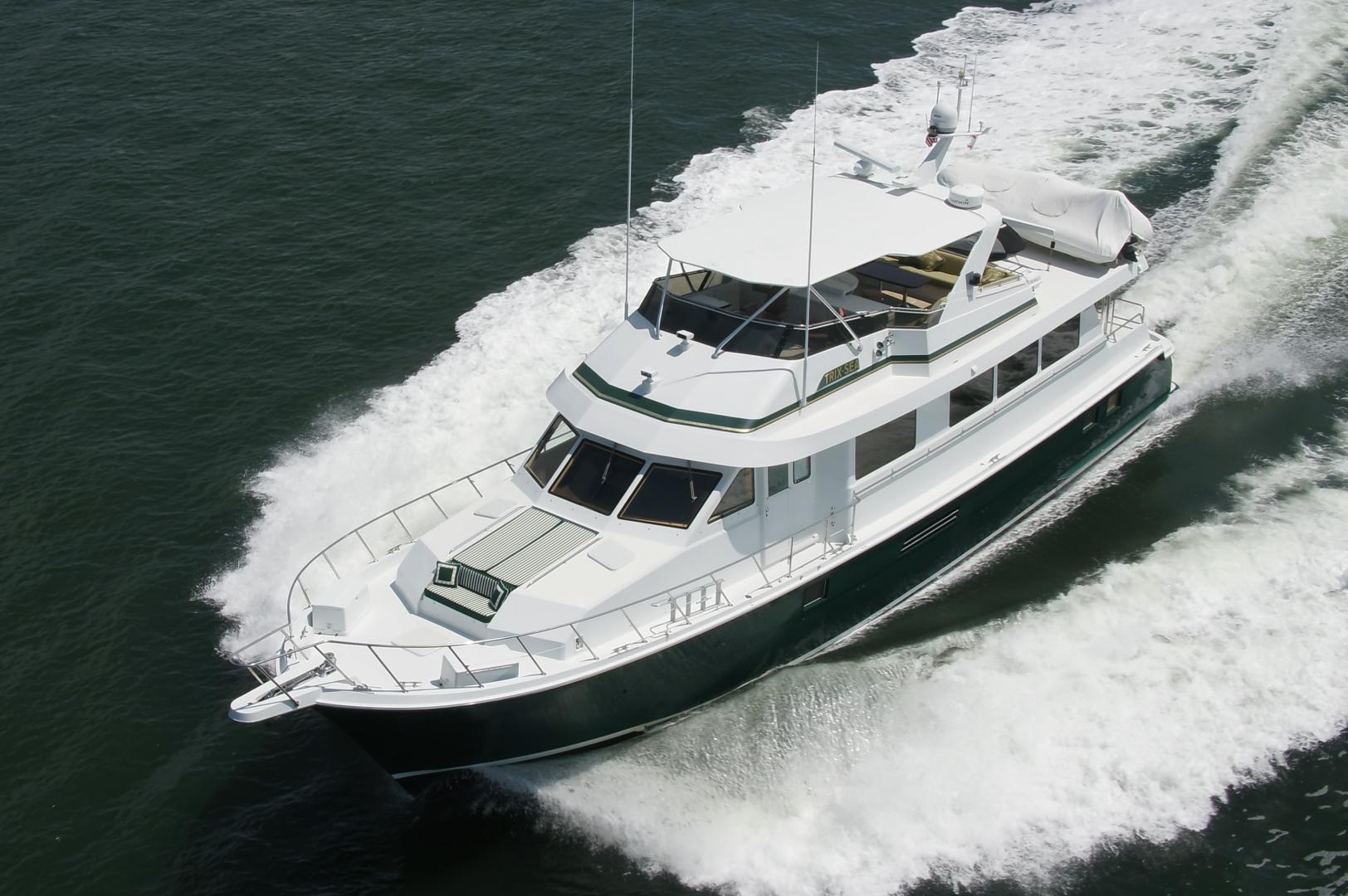 Hatteras-74 Sport Deck Motor  Yacht 1999-TRIX SEA Longboat Key-Florida-United States-1469553 | Thumbnail