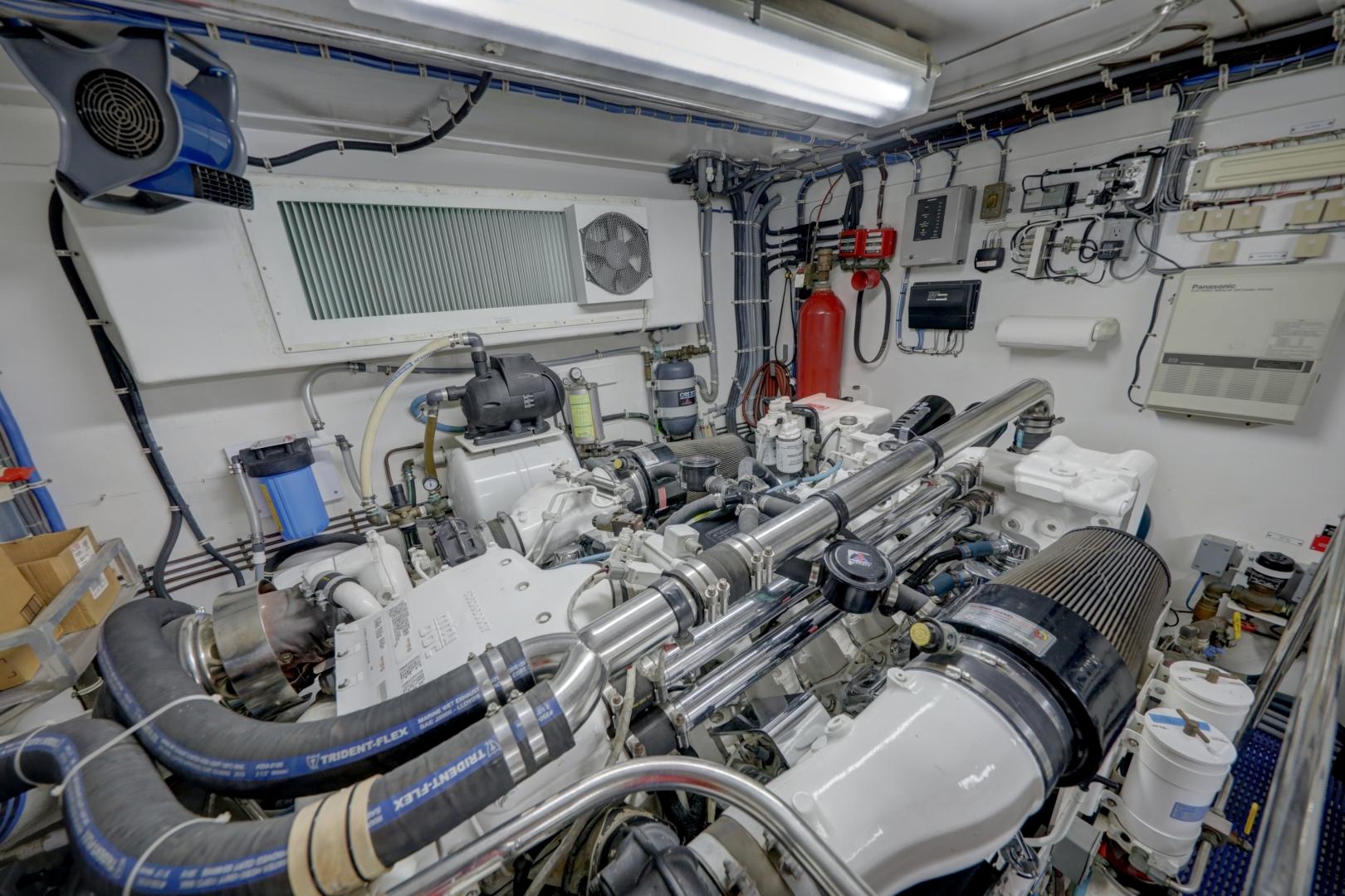 Hatteras-74 Sport Deck Motor  Yacht 1999-TRIX SEA Longboat Key-Florida-United States-1469604 | Thumbnail