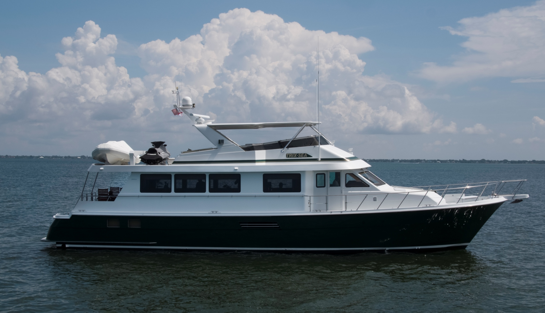 Hatteras-74 Sport Deck Motor  Yacht 1999-TRIX SEA Longboat Key-Florida-United States-1469557 | Thumbnail