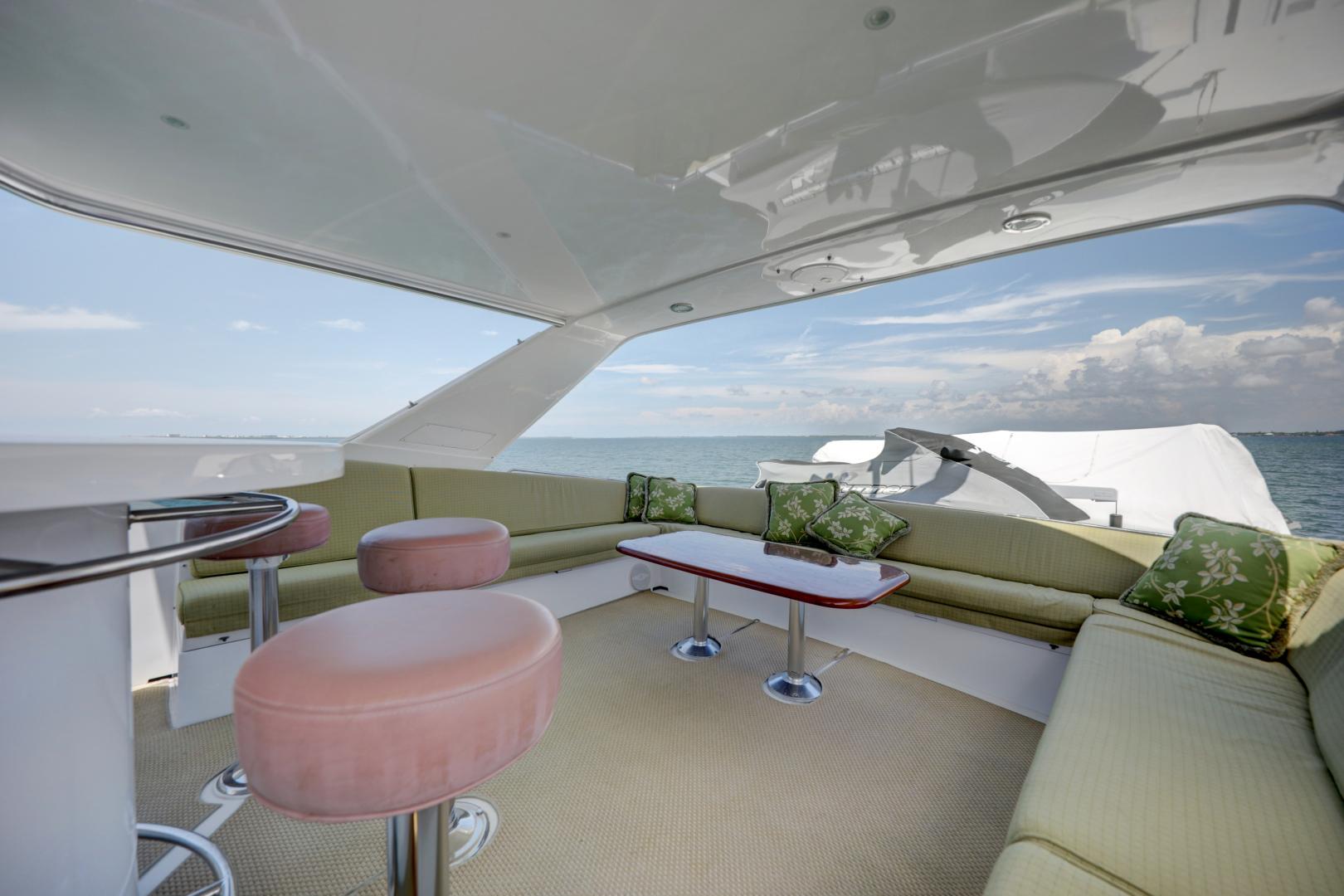 Hatteras-74 Sport Deck Motor  Yacht 1999-TRIX SEA Longboat Key-Florida-United States-1469592 | Thumbnail